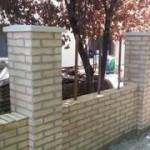 Kerítés építése