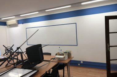 Iskolafelújítás referencia munka képek
